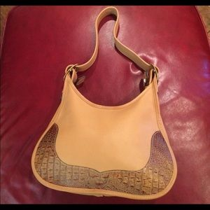 Tanners creek leather designs hobo hand bag purse